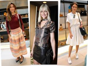 Giovanna Meneghel, Carola Diniz e mais bem vestidas em SP. Confira
