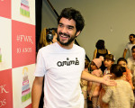 Caio Blat e Marcio Garcia marcam presença no Fashion Weekend Kids