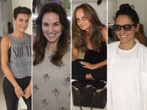 Glamurettes ganham aula de balé com Luiza Lopes no Estúdio Anacã