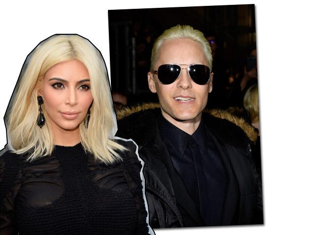 Kim Kardashian e Jared Leto || Créditos: Getty Images
