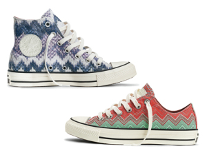 Desejo do Dia: as estampas Missoni nos pés com a Converse
