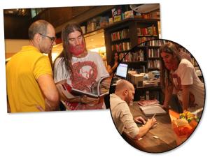 Muti Randolph, artista visual, lança livro no Rio. Pode entrar