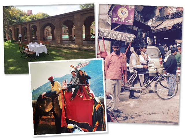 Do luxo às feiras locais, a viagem de Carola Diniz à Nova Déli e Rajastão|| Créditos: Acervo Pessoal