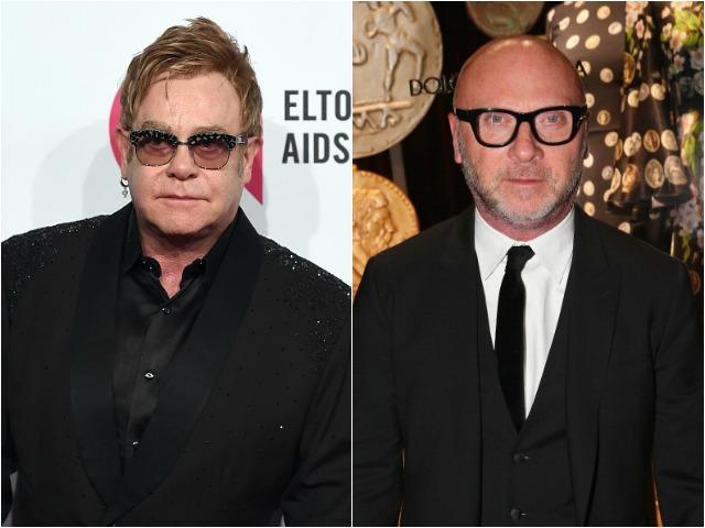 Elton John convocou um boicote à Dolce & Gabbana nesse domingo || Crédito: Getty Images