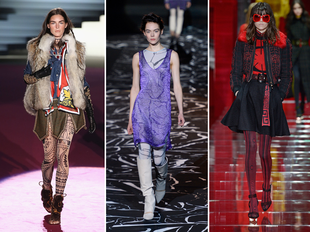 Dsquared2, Missoni e Versace || Crédito: Getty Images