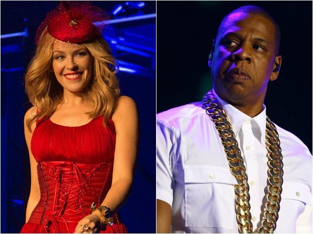Kylie Minogue teria deixando a gravadora de Jay Z por causa das vendas em baixa || Crédito: Getty Images