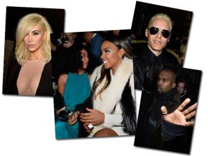 Jared Leto platinado, Kimye e mais celebs na fila A da Lanvin, em Paris