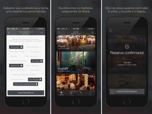 Aplicativo faz reserva, pedido e pagamento nos melhores restaurantes de SP