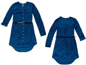 DZARM. aposta no vestido manga longa para dias de outono