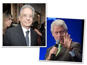 FHC e Bill Clinton recebem prêmio em NY. Glamurama conta