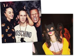 Com Rihanna e Katy Perry, Moschino arma festa em balada parisiense