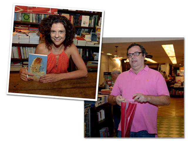 Luciana Pessanha e João Emanuel Carneiro    Créditos: Leo Marinho