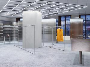 Acne Studios inaugura loja-conceito com projeto de artista plástico. Cool!