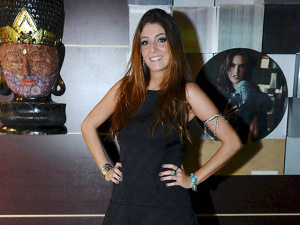 Nani Bastos fala de seu look DZARM. escolhido para a festa Joy