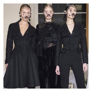 Riccardo Tisci mistura alta-costura com estilo de rua na Givenchy