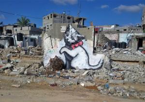 Banksy ataca de cineasta em curta-metragem sobre Gaza. Play!