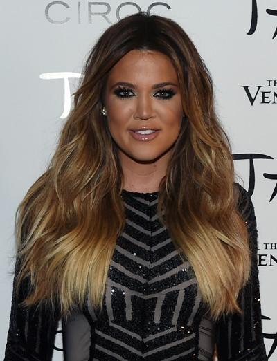 Khloe Kardashian na corrida para apresentar o Fashion Police    Créditos: Getty Images