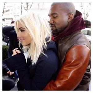 Kim e Kanye West: o casal mais hype da Semana de Moda de Paris