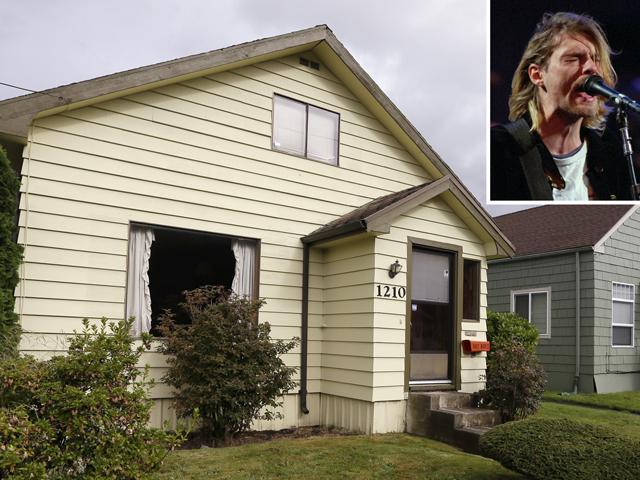 A casa onde viveu Kurt Cobain, em Seattle || Crédito: Divulgação / Getty Images
