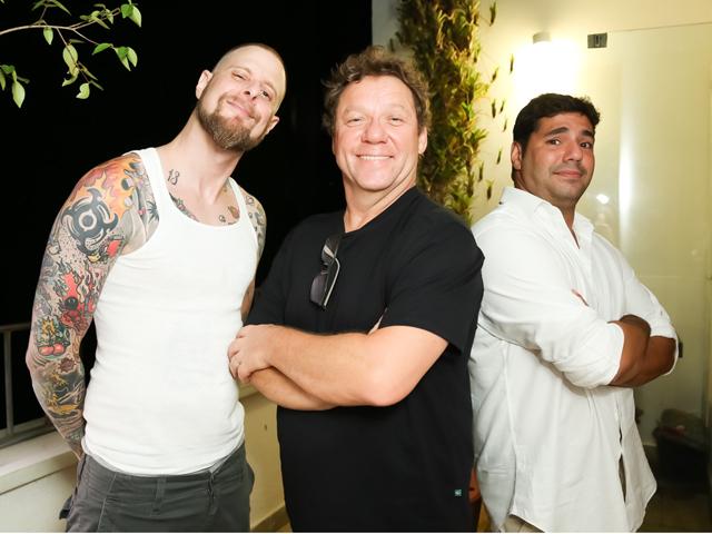 """André Mifano, Claude Troisgros e Felipe Bronze: """"The Taste Brasil""""    Créditos: Miguel Sá/ Divulgação"""