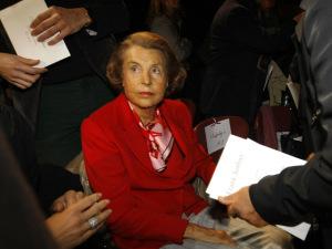 Liliane Bettencourt é a mais rica com saúde frágil e traições