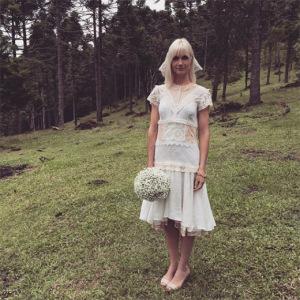 Ana Claudia Michels se casa com Augusto de Arruda Botelho em Santa Catarina