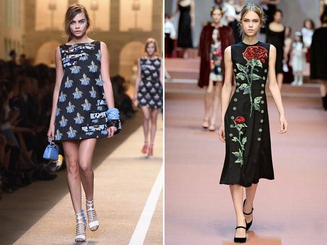 As modelos na passarela || Créditos: Getty Images