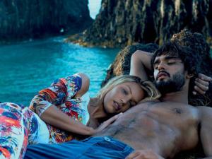 Candice Swanepoel e Marlon Teixeira juntos para a Osmoze! Play!