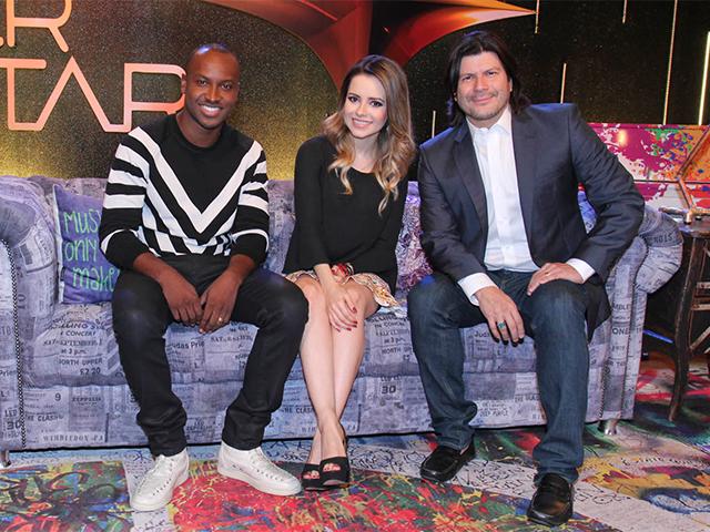 Thiaguinho, Sandy e Paulo Ricardo    Créditos: Agnews