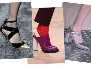 Dez pares de sapatos direto das passarelas internacionais de inverno 2015