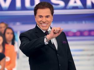 Silvio Santos ganha TV de presente depois de citar Netflix