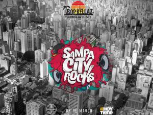 Agência #HoyTiene agita o fim de semana com a festa Sampa City Rocks