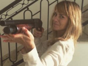Filme de terror com Carol Dieckmann foi rodado em uma semana