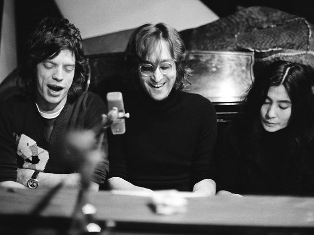 Jagger, Mick & Lennon, John & Ono, Yoko