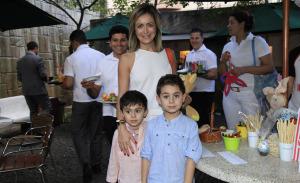 Forneria San Paolo promoveu tarde de caça aos ovos para a garotada