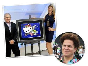 Romero Britto usa sua arte para ajudar projeto social. Vem saber!