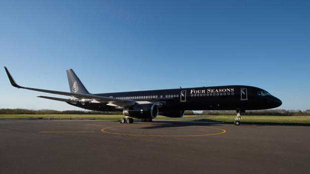 Four Seasons Jet fez sua primeira viagem em abril || Crédito: Divulgação