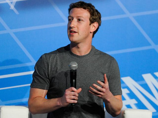 O fundador do Facebook Mark Zuckerberg   Créditos: Getty Images