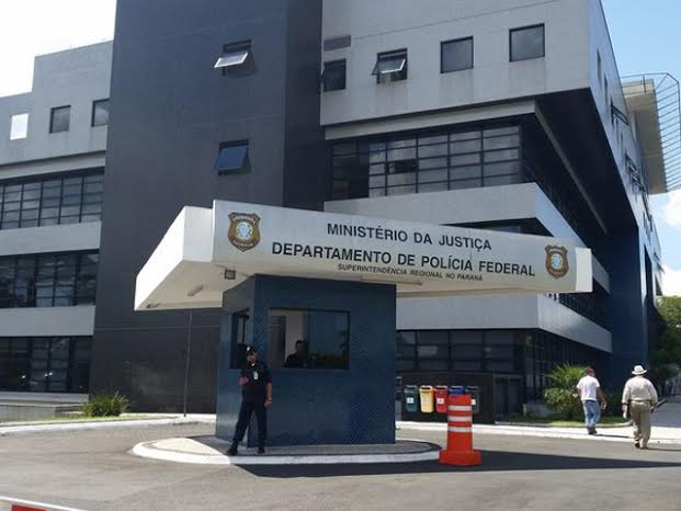 A fachada do prédio da  Polícia Federal no Paraná.|| Créditos: André Richter / Agência Brasil