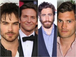 Com ou sem barba? Como você prefere os bonitões de Hollywood, glamurette?