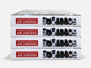 O clássico tênis Air Jordan virou uma enciclopédia pop de 6 quilos