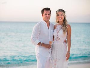Raquel Mattar disse sim a Clemente Jr. em casamento inesquecível