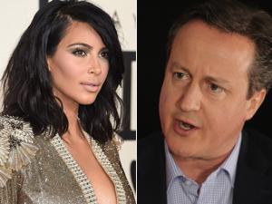 David Cameron revela que é primo de Kim Kardashian. Ah, vá…