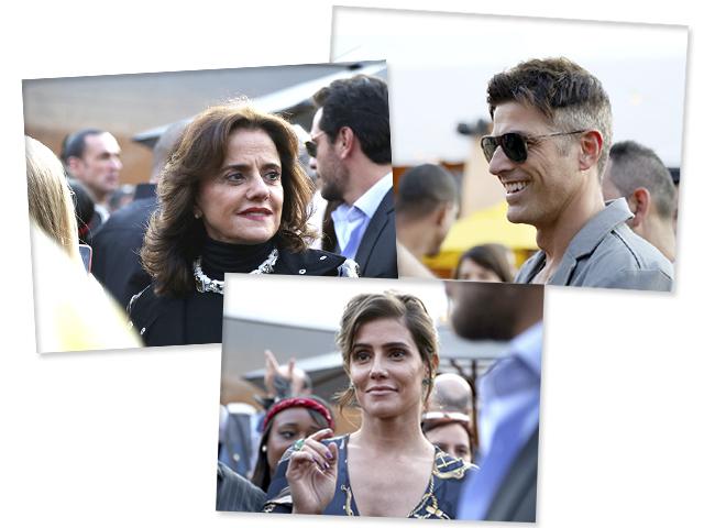 Marieta Severo, Reynaldo Gianecchini e Deborah Secco || Crédito: Maria A.Anicetto