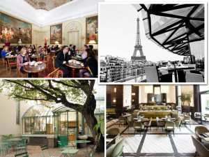 Os cafés franceses que oferecem muito mais do que bebidas e doces