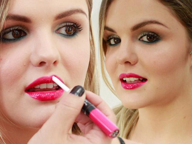 A maquiagem em alta definição e bem leve      Créditos: Fernanda Rodrigues