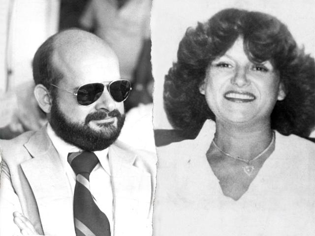 O engenheiro Márcio Stancioli e a mulher, Eloísa Ballesteros||Créditos: Acervo do Jornal do Estado de MG
