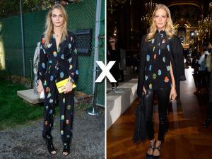 Qual irmã se veste melhor, Poppy ou Cara Delevingne?