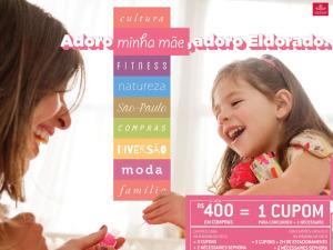 Promoção de Dia das Mães do Shopping Eldorado sorteia viagem para Marrocos