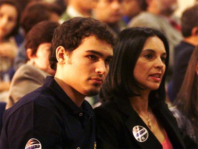 Thomaz Alckmin e sua mãe, Lu Alckmin || Crédito: Reprodução